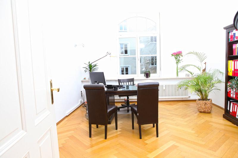 Büro der Anwältin Nicola Fleischmann in München