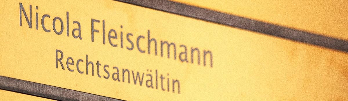 Nicola Fleischmann Rechtsanwältin in München